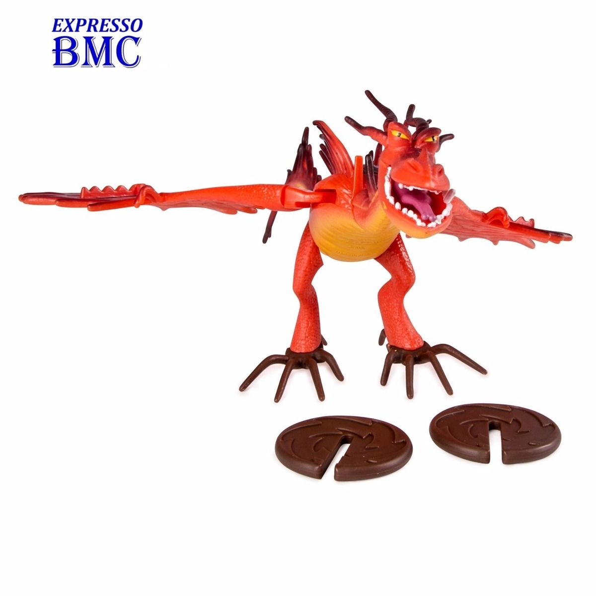 Dente De Anzol Action Dragon Como Treinar O Seu Drago  R