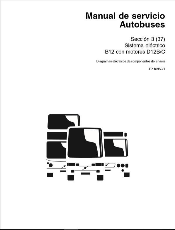 Diagramas De Sistema Electrónico Autobus Volvo 7550