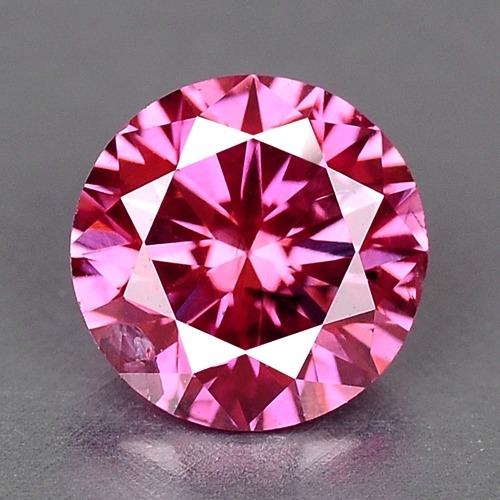 diamante rosa natural 0
