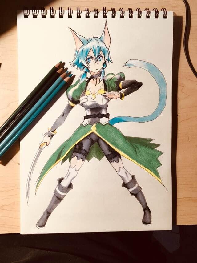 Dibujo De Anime Y Manga A Todo Color   29900 en Mercado