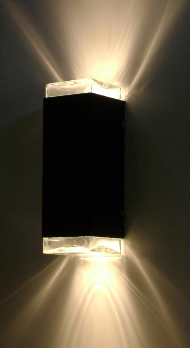 Difusor Bidireccional Exterior Para 2 Lamparas Gu10 Led