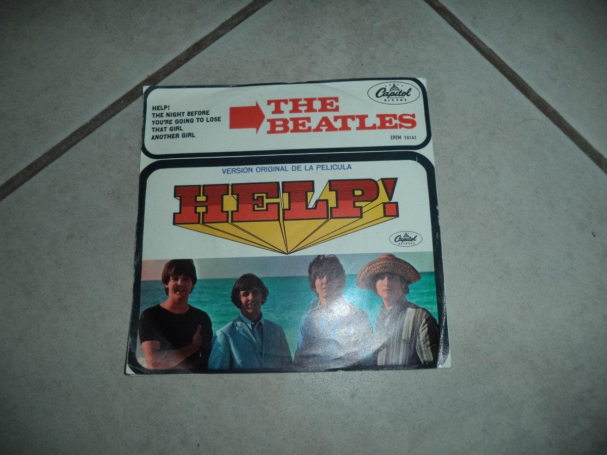 Disco Acetato The Beatles Help! - $ 650.00 en Mercado Libre