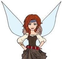 Disfraz Zarina Hada Pirata Tinkerbell Princesa