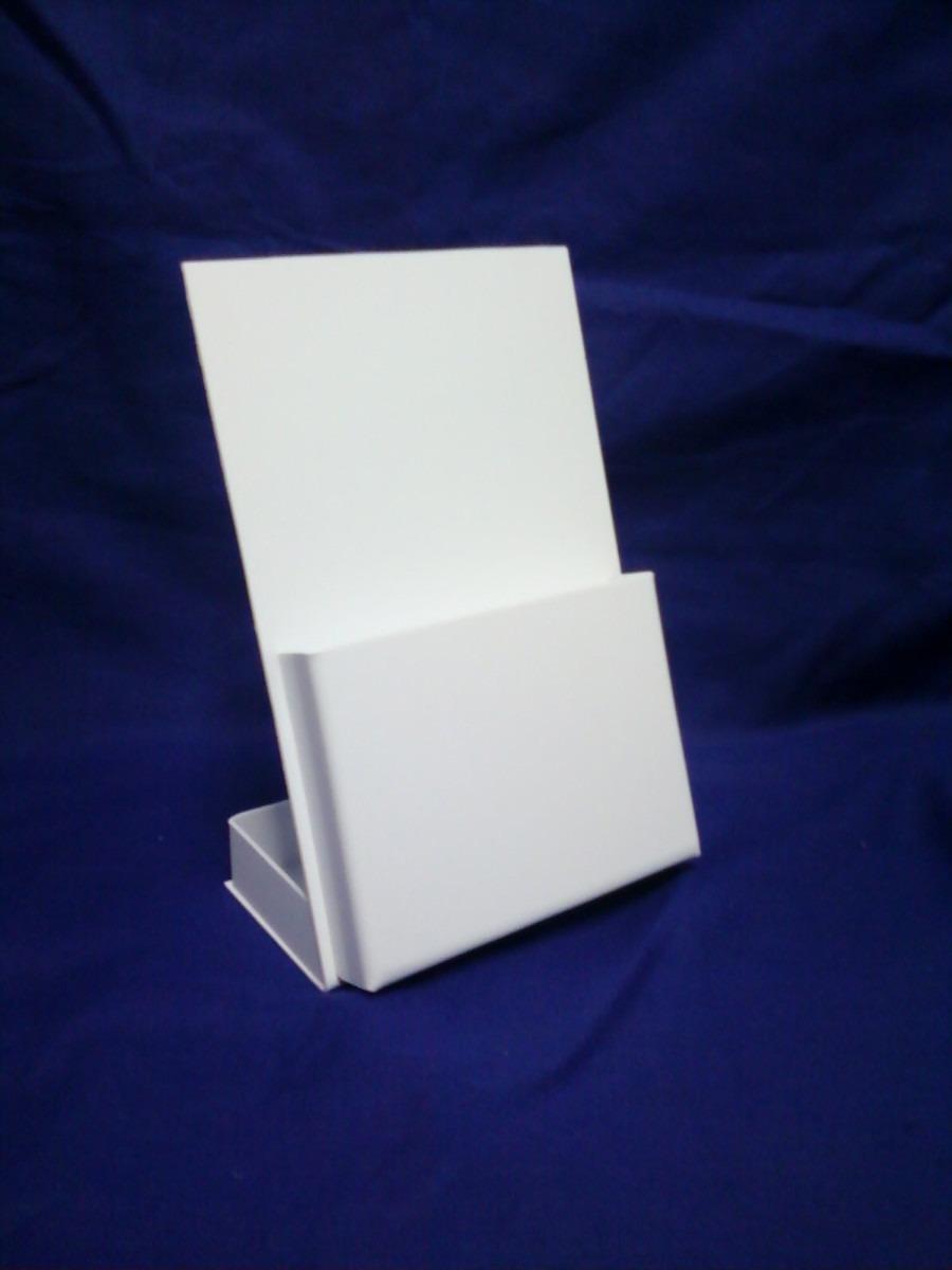 Display De Mesa Porta Folder Ps Cristal Similar Acrilico