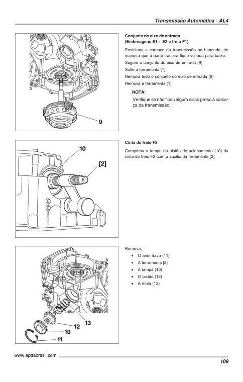 Dpo Al4. Manual Reparación Transmisión Automática Dpo Al4