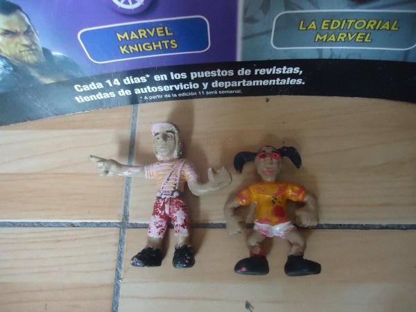 El Chavo Del 8 & Chilindrina Figuras Hecho En Mexico