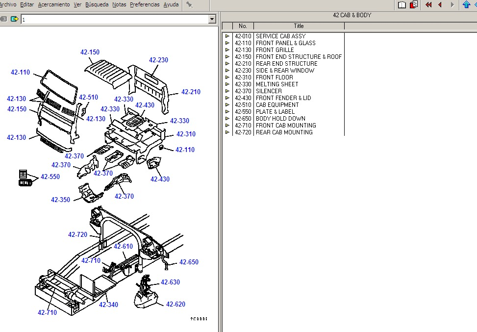 Epc Catalogo Partes Mitsubishi Fuso Canter Fk+fv+ Fm