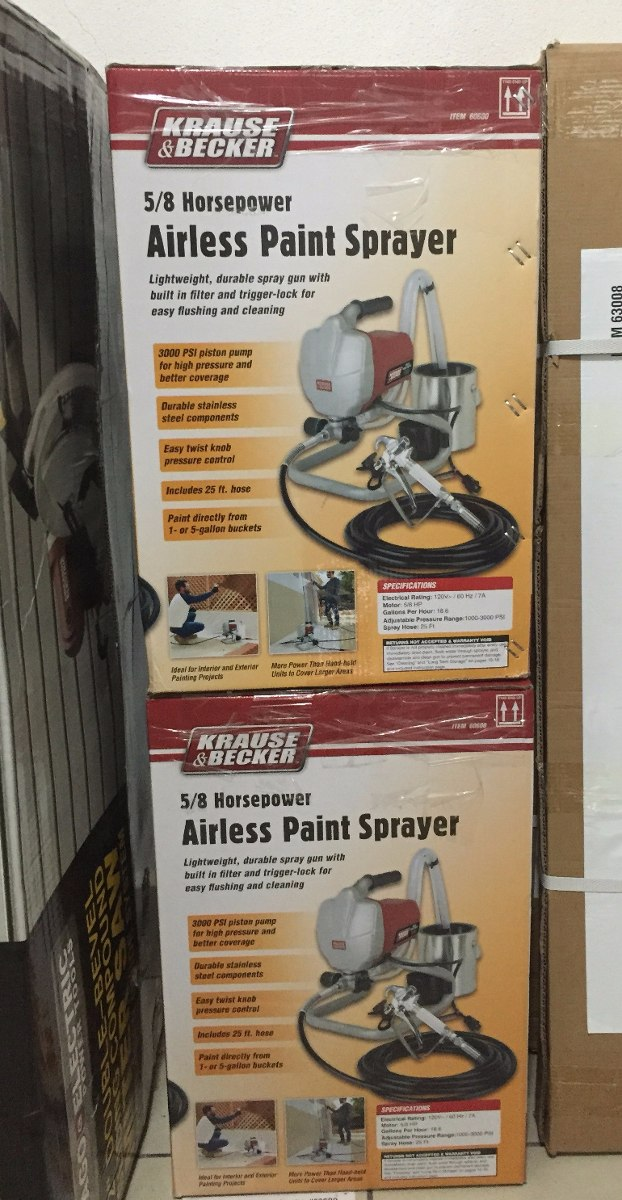 Krause And Becker Paint Sprayer Parts
