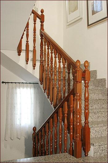 Escaleras Barandales Pasamanos De Madera Torno
