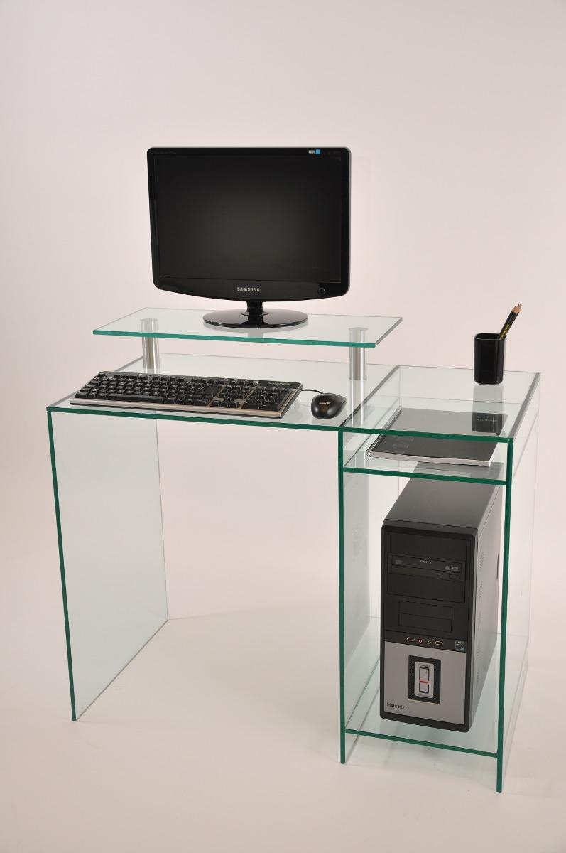 Escritorio En Vidrio Mueble Para Computadora   16400