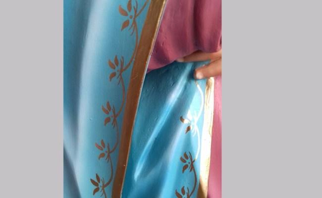 Escultura Nossa Senhora Das Dores 1 15mt Imagem Em Resina