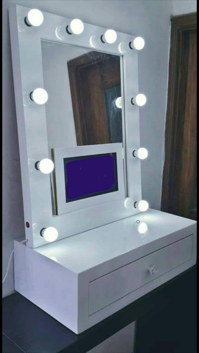 Espejo Para Maquillaje  Vanity Con Cajn Flotante