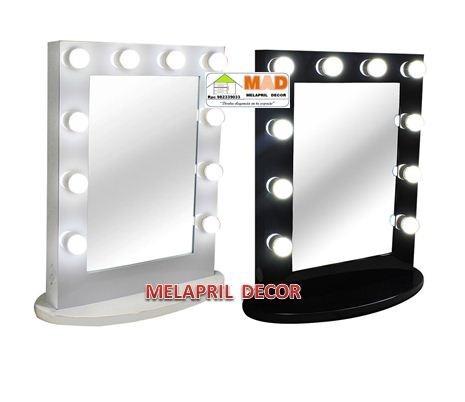 Espejo Para Tocador Con Luces Led Tipo Hollywood  S 39900 en Mercado Libre