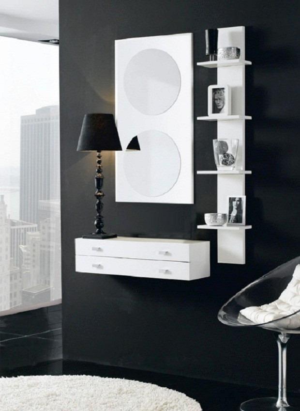 Espejos Modernos Melamina Muebles Repisas  S 32000