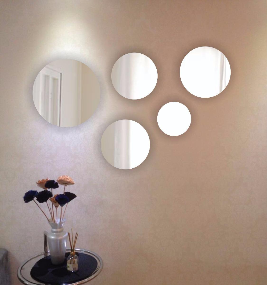 Espelhos Decorativos  Redondos Grande 130 Cm X 60 Cm  R
