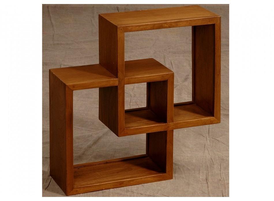 Estan Repisa De Madera De Pino Minimalista Muebles Lluminat   248700 en Mercado Libre