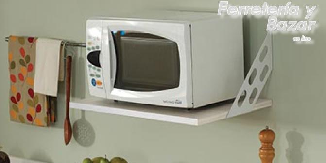 Estante Microondas Cocina Horno Electrico 52 X 36 Cm 90 Kg
