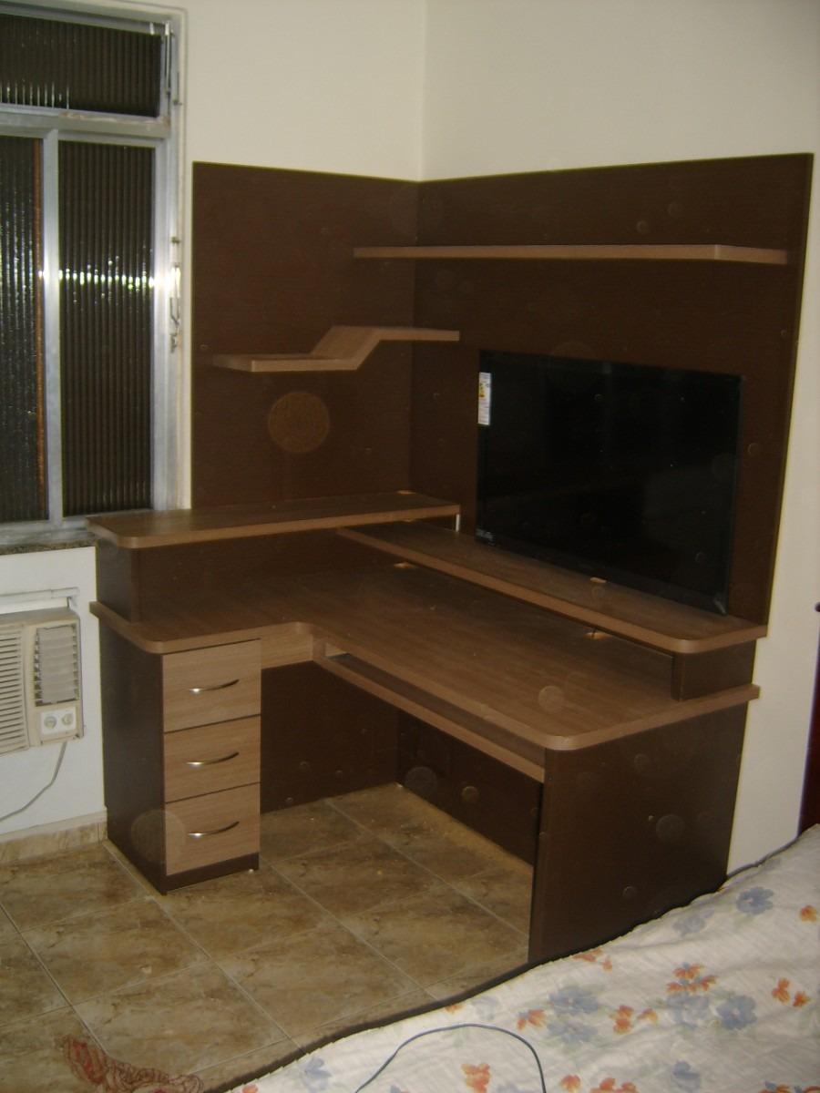 Estante Para Computador E Tv Lcd  R 170000 em Mercado