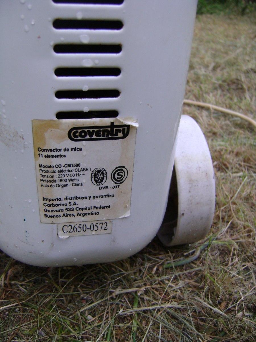 Estufa Electrica Coventry Como Nueva No Te La Pierdas