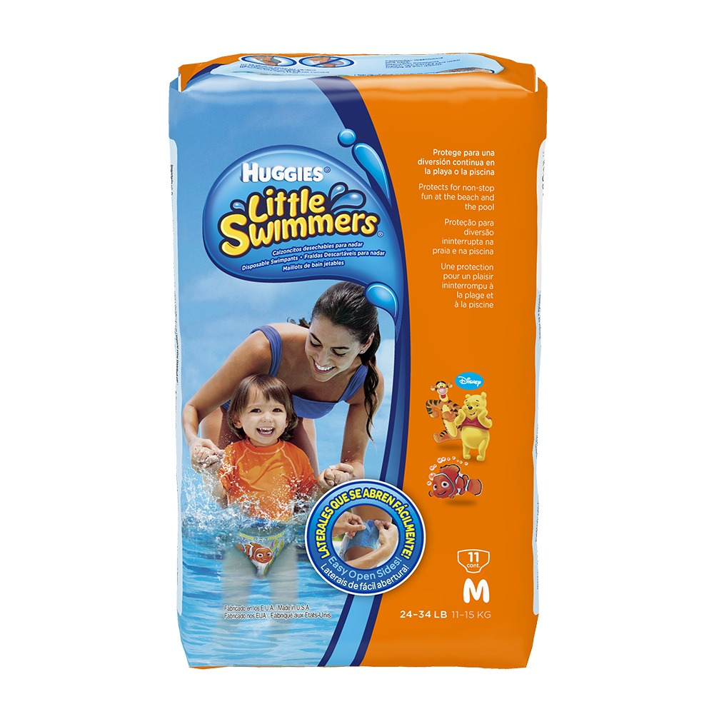 c1d46e8c0 Etapa 2 11 Panales Huggies Para Piscina Little Swimmers