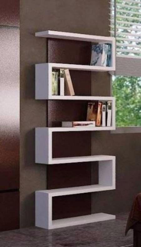 Fabricamos Libreros Modernos Minimalistas Modelo Lib015b