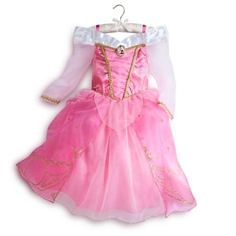 Fantasia Bela Adormecida Disney Vestido Aurora 6 78 Anos