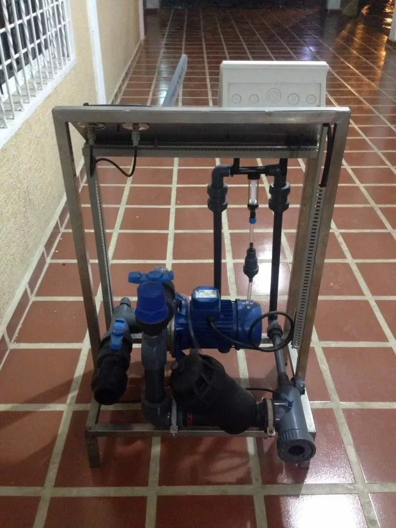 Fertirriego Con Venturi Controlador De Riego Automatizado