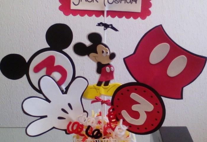 Figuras Centros De Mesa Mickey Mouse Y Minnie Mouse 1800 En