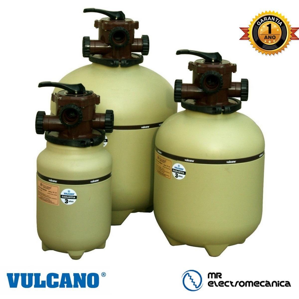 Filtro Pileta Piscina Vulcano Vc10 Filtrado Agua   3570