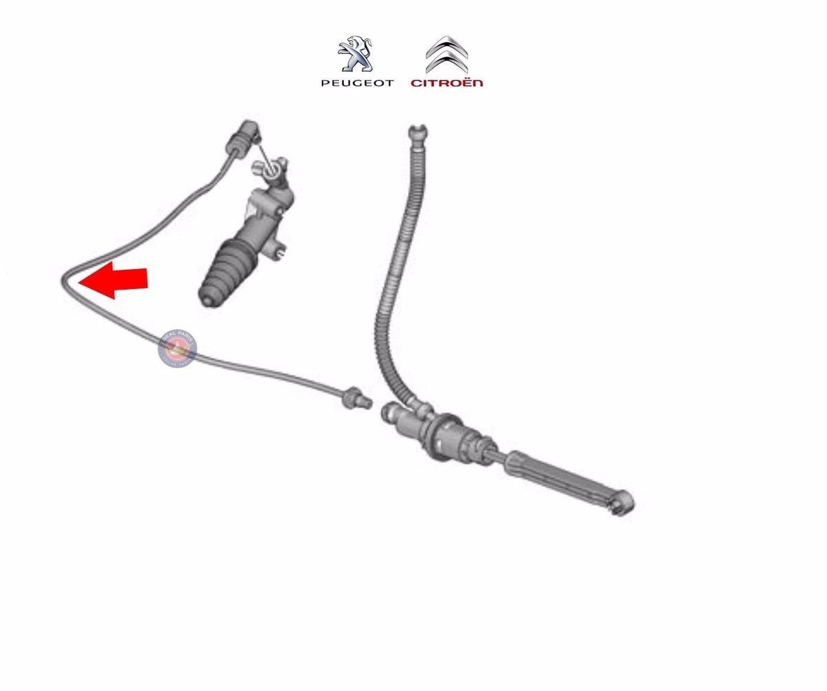 Flexivel Atuador Embreagem Citroen C3 Aircross Peugeot 208