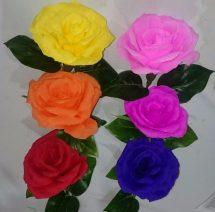 Como Hacer Flores De Papel Crepe Rosa Imgurl