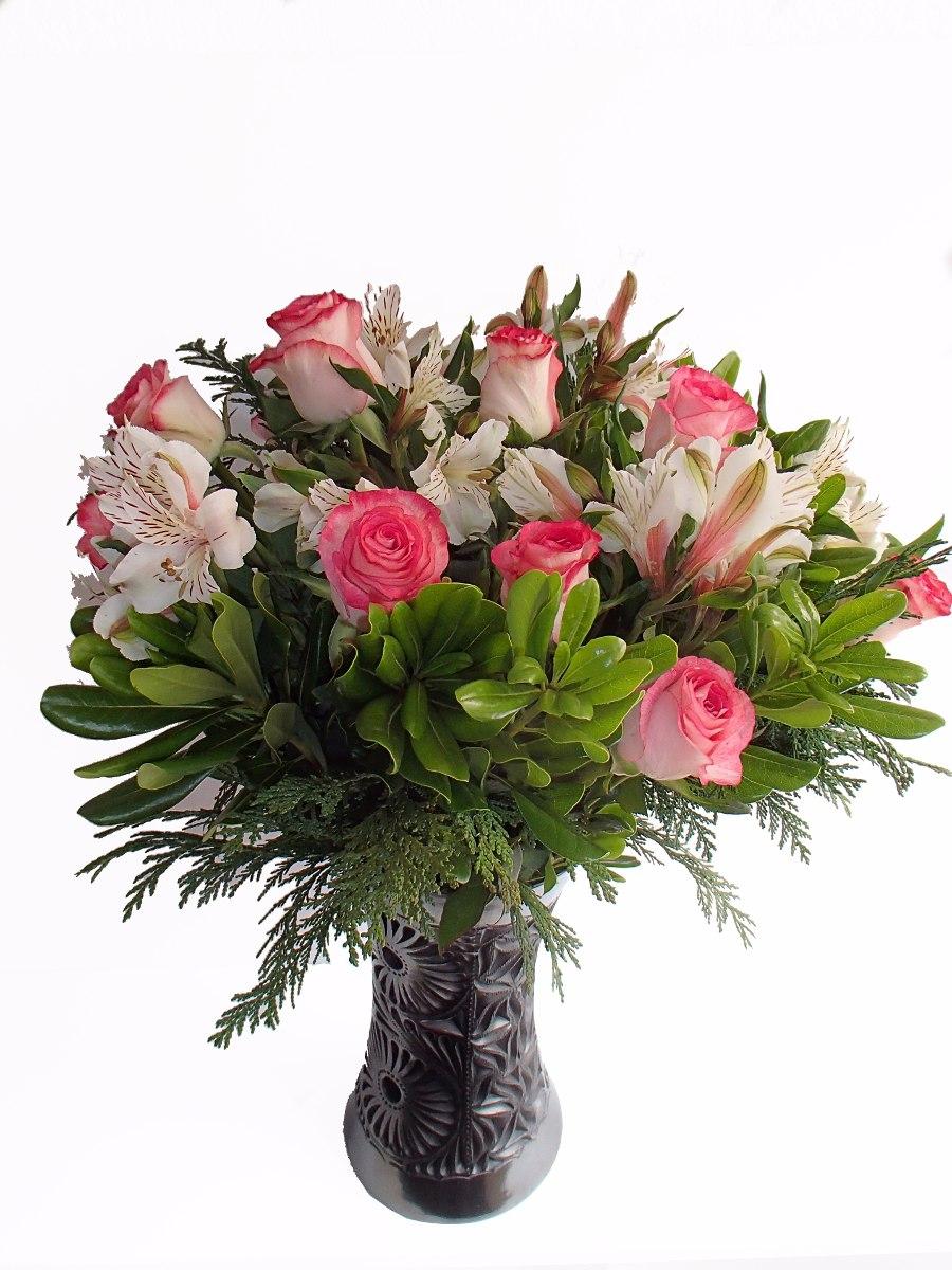 Flores Hermoso Arreglo De Rosas Para Regalo Boda Xv Aos   73000 en Mercado Libre