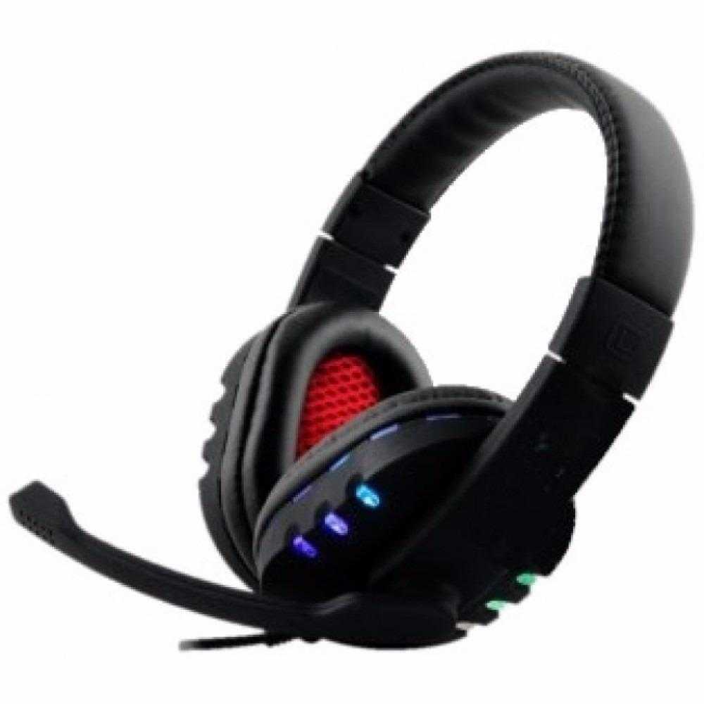 Fone Ouvido Headset Gamer Pc Playstation Ps4 Ps3 Jogo E