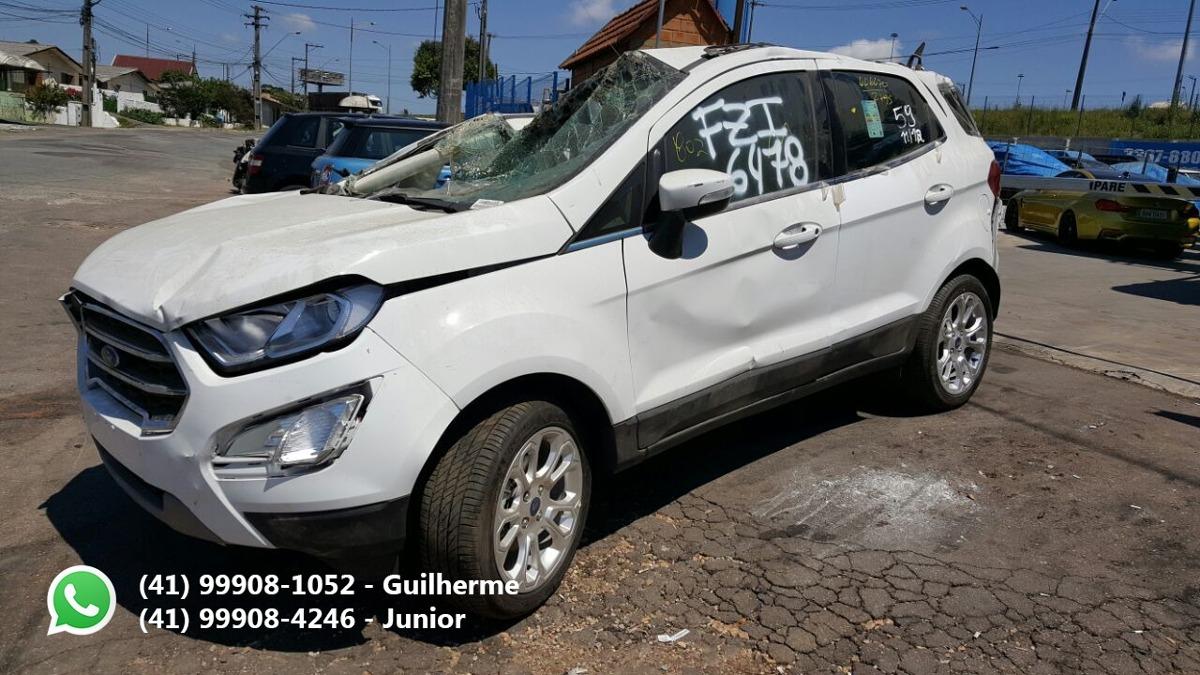 Ford Ecosport 20 16v 2018 Sucata Para Peas  R 999999 em Mercado Libre