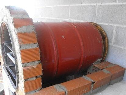 Forno Inox Para Fogo A Lenha Tipo Tambor  R 149900 em