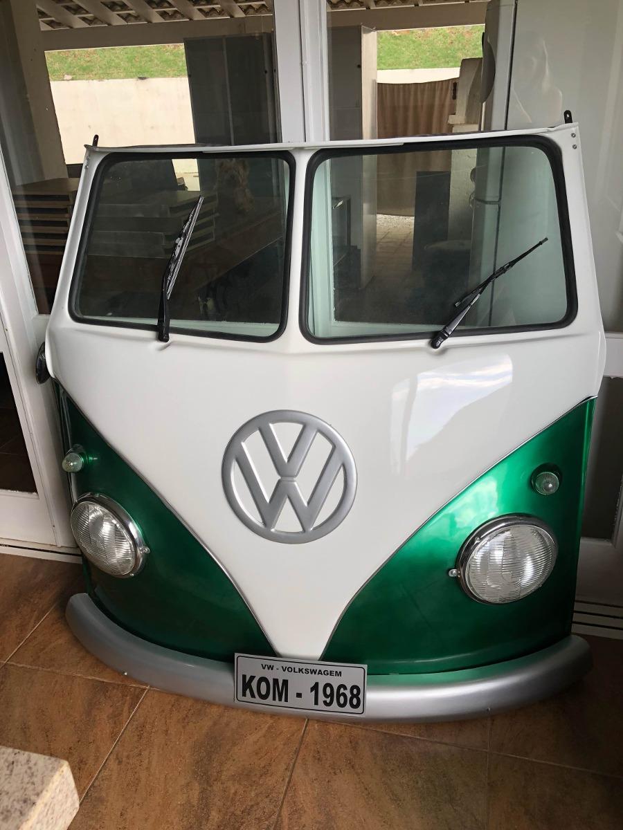 Frente De Kombi Decorativa Verde  R 380000 em Mercado Livre
