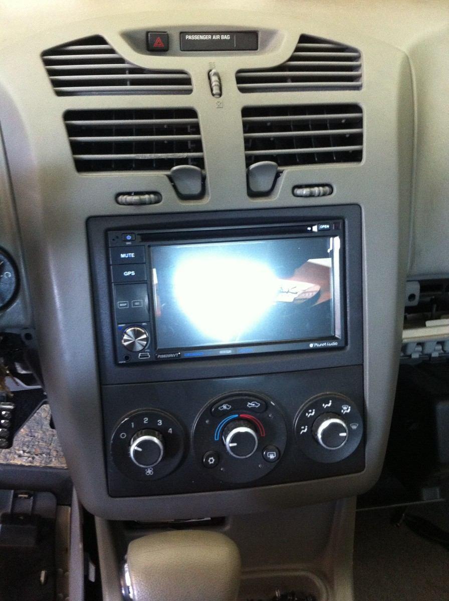Dodge Stereo Wiring Diagram Frente Para Chevrolet Malibu 2004 2010 Doble Din 300