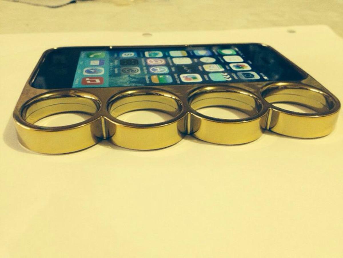 Funda Carcasa Protector Tipo Manopla Para Iphone 5 Y 5s   15000 en Mercado Libre