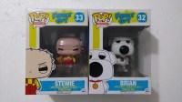 Funko Pop Family Guy Stewie Y Brian Padre De Familia Lego ...