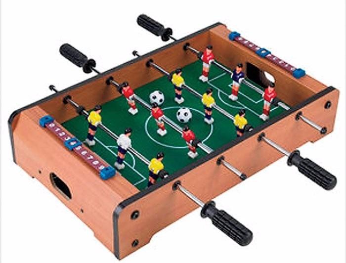 Futbolito De Mesa Con 12 Jugadores C 2 Pelotitas  Mdf