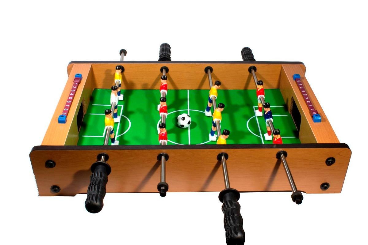 Futbolito De Mesa Para 2 Jugadores Incluye 2 Balones