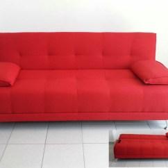 Sofa Cama Individual Mexico Df Smal Futon Rojo Sofá Matrimonial Tela Gruesa Pata Alta