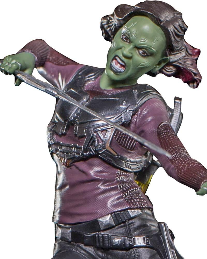 Gamora  Guardians Of The Galaxy Vol 2 110  Iron Studios  R 36999 em Mercado Livre
