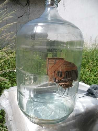 Garrafo De 20 Litro gua Em Vidro Anos 60 Rarissimo E