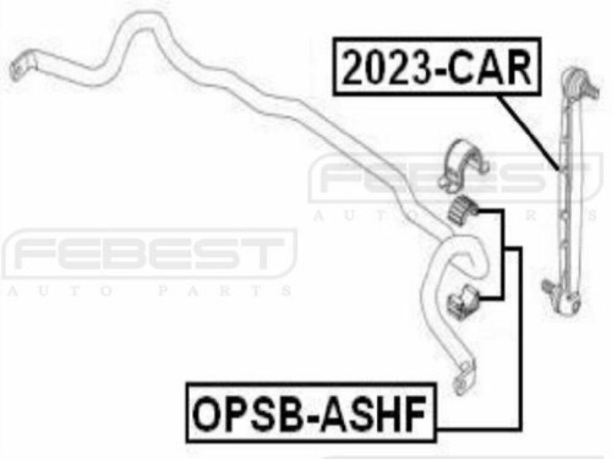 Goma Barra Estabilizadora Chevrolet Astra 2004-2010