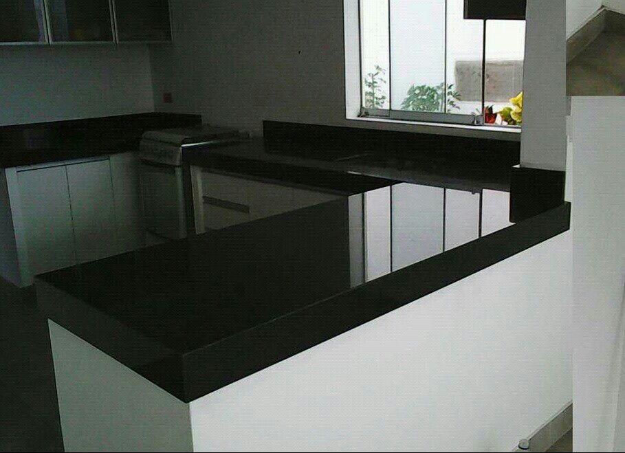 Granito Negro Aracruz Y Absoluto Cuarzo Marmol  S 12000 en Mercado Libre