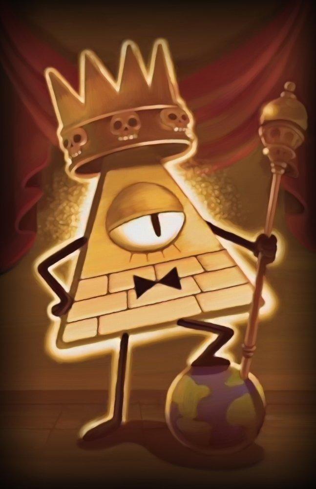 Gravity Falls Jounal Wallpaper Gravity Falls King Bill Poster 820 93 En Mercado Libre