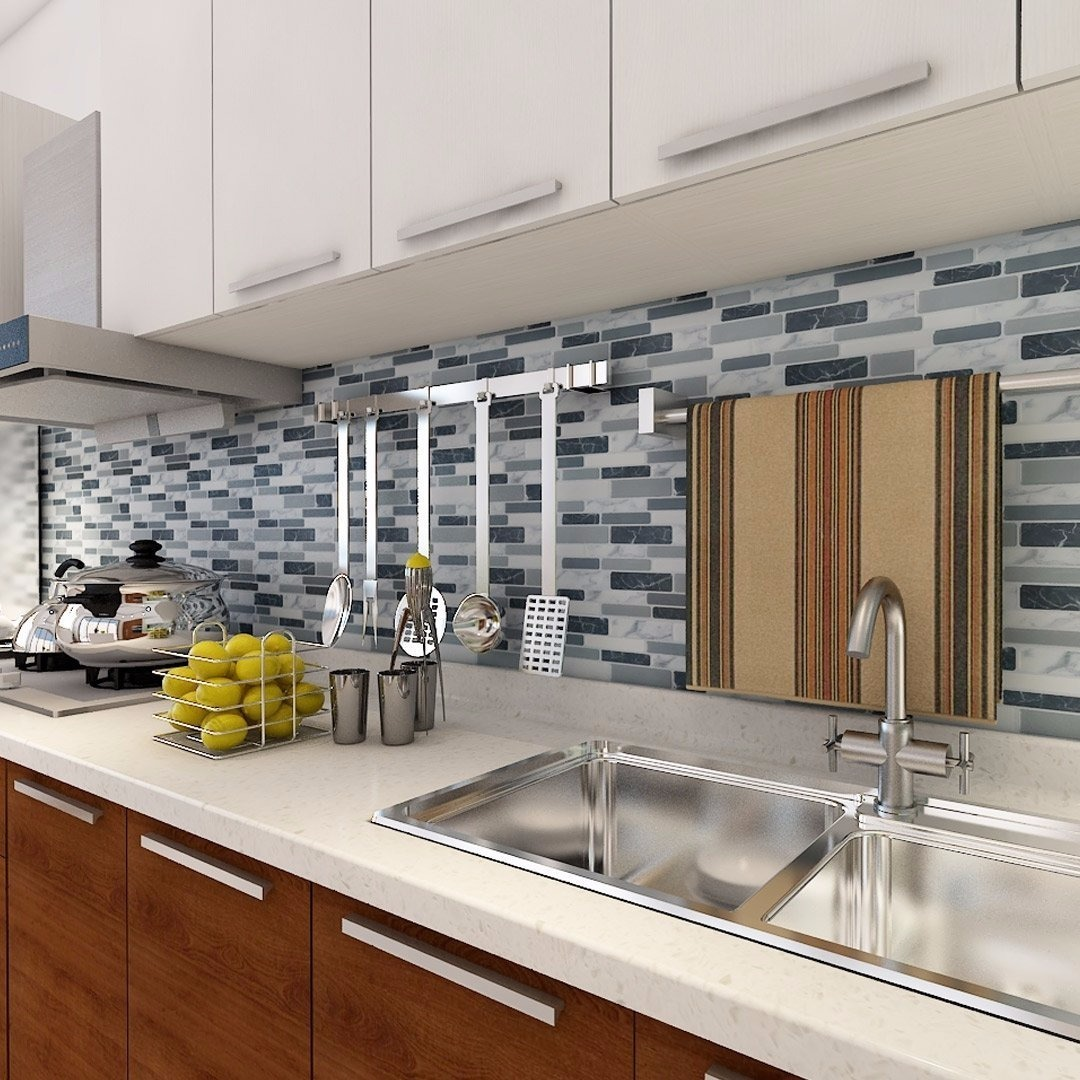 Guarda Cocina Bao Pared Azulejos Revestimiento Smart