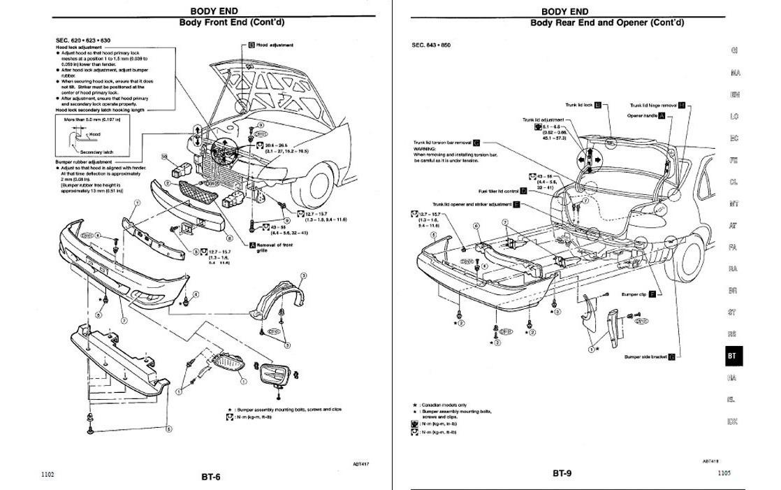 Guía Automotriz De Taller Nissan Sentra 95-99 Manual