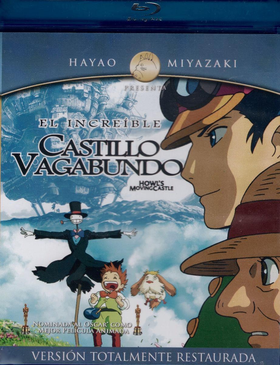 Hayao Miyazaki. El Increíble Castillo Vagabundo. Blu-ray. - $ 190.00 en Mercado Libre